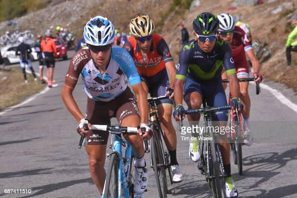 100th Tour of Italy 2017 / Stage 16 Domenico POZZOVIVO / Nairo QUINTANA / Vincenzo NIBALI / Ilnur ZAKARIN / Rovetta Bormio / Giro /