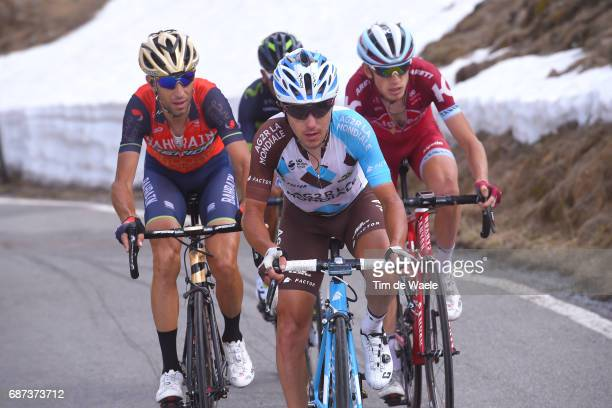 100th Tour of Italy 2017 / Stage 16 Domenico POZZOVIVO / Vincenzo NIBALI / Ilnur ZAKARIN / Nairo QUINTANA / Umbrailpass / Rovetta Bormio / Giro /