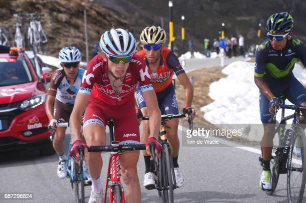 100th Tour of Italy 2017 / Stage 16 Ilnur ZAKARIN / Domenico POZZOVIVO / Vincenzo NIBALI / Nairo QUINTANA / Rovetta Bormio / Giro /