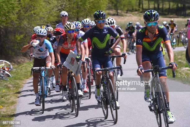 100th Tour of Italy 2017 / Stage 16 Nairo QUINTANA / Jose Joaquin ROJAS / Nairo QUINTANA / Vincenzo NIBALI / Domenico POZZOVIVO / Rovetta Bormio /...