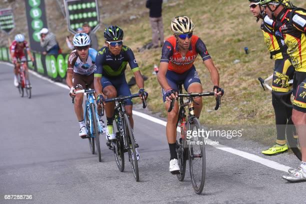 100th Tour of Italy 2017 / Stage 16 Vincenzo NIBALI / Domenico POZZOVIVO / Nairo QUINTANA / Ilnur ZAKARIN / Rovetta Bormio / Giro /