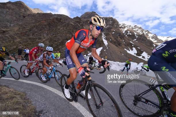 100th Tour of Italy 2017 / Stage 16 Vincenzo NIBALI / Domenico POZZOVIVO / Ilnur ZAKARIN / Rovetta Bormio / Giro /
