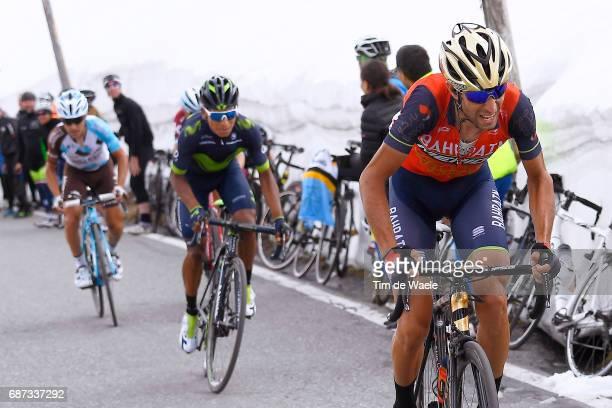100th Tour of Italy 2017 / Stage 16 Vincenzo NIBALI / Nairo QUINTANA / Ilnur ZAKARIN / Domenico POZZOVIVO / Umbrailpass / Rovetta Bormio / Giro /pool...