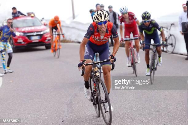 100th Tour of Italy 2017 / Stage 16 Vincenzo NIBALI / Nairo QUINTANA / Domenico POZZOVIVO / Ilnur ZAKARIN / Umbrailpass / Rovetta Bormio / Giro /pool...