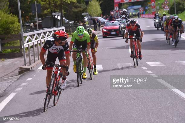 100th Tour of Italy 2017 / Stage 17 Valerio CONTI / Michael WOODS / Tejay VAN GARDEREN / Tirano CanazeiVal Di Fassa 1442m / Giro /