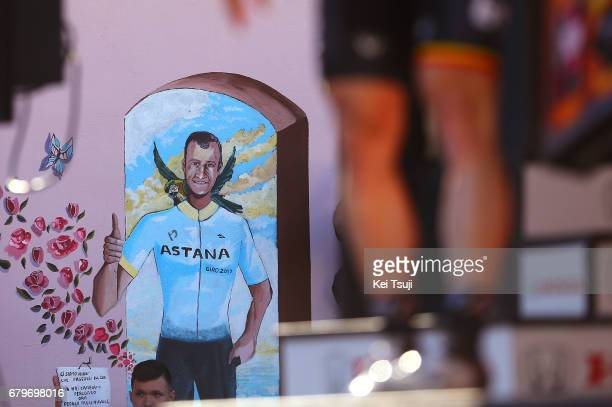 100th Tour of Italy 2017 / Stage 2 Michele SCARPONI Celebration / Olbia Tortoli / Giro /