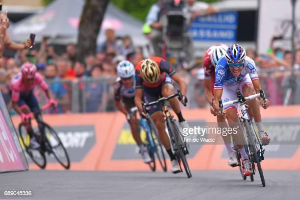 100th Tour of Italy 2017 / Stage 20 Arrival Sprint / Thibaut PINOT / Vincenzo NIBALI / Ilnur ZAKARIN / Domenico POZZOVIVO / Nairo QUINTANA Pink...