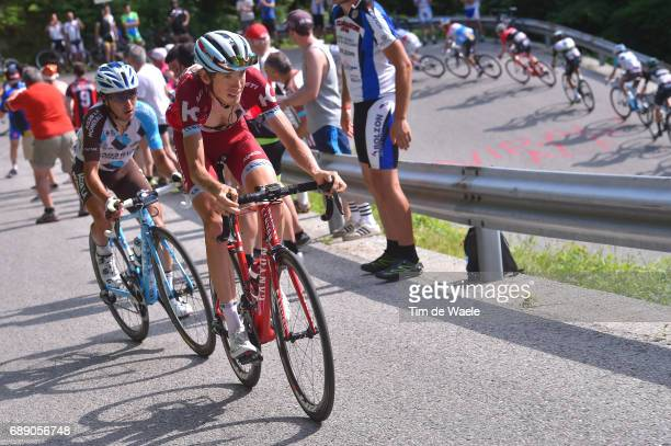 100th Tour of Italy 2017 / Stage 20 Ilnur ZAKARIN / Domenico POZZOVIVO / Pordenone Asiago 1002m / Giro /