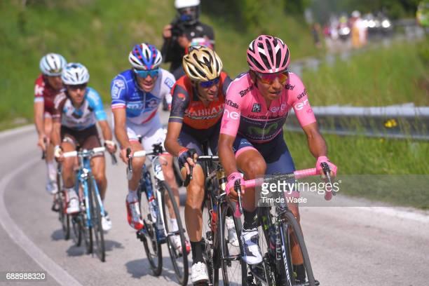 100th Tour of Italy 2017 / Stage 20 Nairo QUINTANA Pink Leader Jersey / Vincenzo NIBALI / Thibaut PINOT / Domenico POZZOVIVO / Ilnur ZAKARIN /...