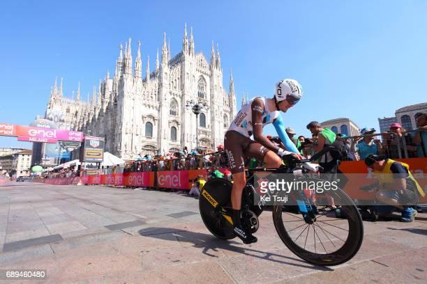 100th Tour of Italy 2017 / Stage 21 Arrival / Hubert DUPONT / MonzaAutrodromo Nazionale MilanoDuomo / Individual Time Trial / ITT / Giro /
