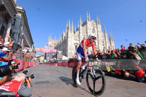 100th Tour of Italy 2017 / Stage 21 Arrival / Tom DUMOULIN / MonzaAutrodromo Nazionale MilanoDuomo / Individual Time Trial / ITT / Giro /