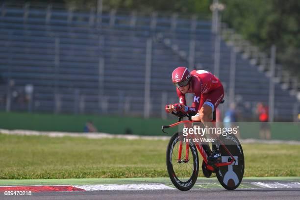 100th Tour of Italy 2017 / Stage 21 Ilnur ZAKARIN / MonzaAutrodromo Nazionale MilanoDuomo / Individual Time Trial / ITT / Giro /