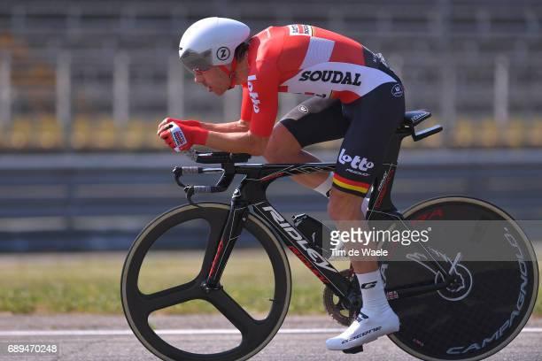 100th Tour of Italy 2017 / Stage 21 Maxime MONFORT / MonzaAutrodromo Nazionale MilanoDuomo / Individual Time Trial / ITT / Giro /