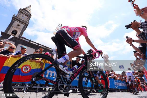 100th Tour of Italy 2017 / Stage 5 Bob JUNGELS Pink Leader Jersey / Perada Messina / Giro /