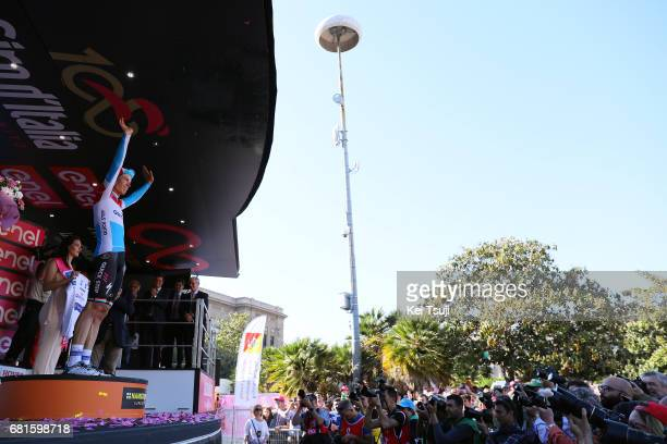 100th Tour of Italy 2017 / Stage 5 Podium / Bob JUNGELS / Celebration / Perada Messina / Giro /