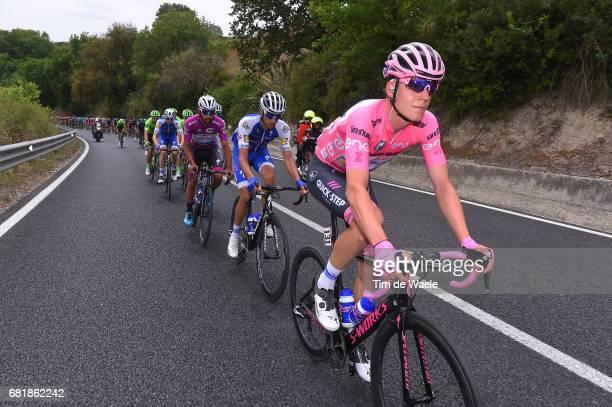 100th Tour of Italy 2017 / Stage 6 Bob JUNGELS Pink Leader Jersey / Eros CAPECCHI / Fernando GAVIRIA Purple Points Jersey/ Reggio Calabria Terme...