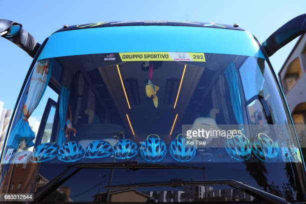 100th Tour of Italy 2017 / Stage 9 Bus / Astana Pro Team / Michele SCARPONI / Parrot Bird / Montenero Di Bisaccia Blockhaus 1665m / Giro /