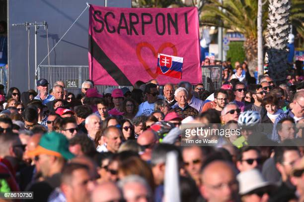 100th Tour of Italy 2017 / Team Presentation Fans / Public / In memory Michele SCARPONI / Team Presentation / Giro /