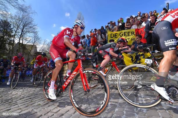 101st Tour of Flanders 2017 / Men Reto HOLLENSTEIN / KAPELMUUR / Wall of Geraardsbergen / De Muur / Antwerpen Oudenaarde / Men / Ronde Van Vlaanderen...