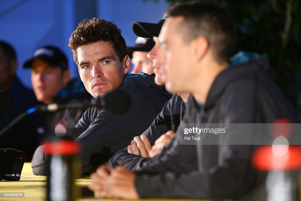 103rd Tour de France 2016 / PC BMC Racing Team Greg VAN AVERMAET (BEL) / Press Conference BMC Racing Team (USA) / TDF /