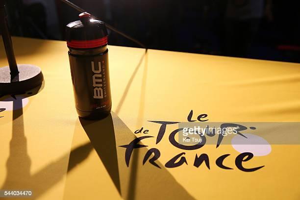103rd Tour de France 2016 / PC BMC Racing Team Illustration / Bottle / Tour de France Logo / Press Conference BMC Racing Team / TDF /