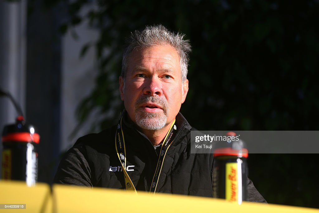 103rd Tour de France 2016 / PC BMC Racing Team Jim OCHOWICZ (USA) Team Manager BMC Racing Team (USA)/ Press Conference BMC Racing Team (USA) / TDF /