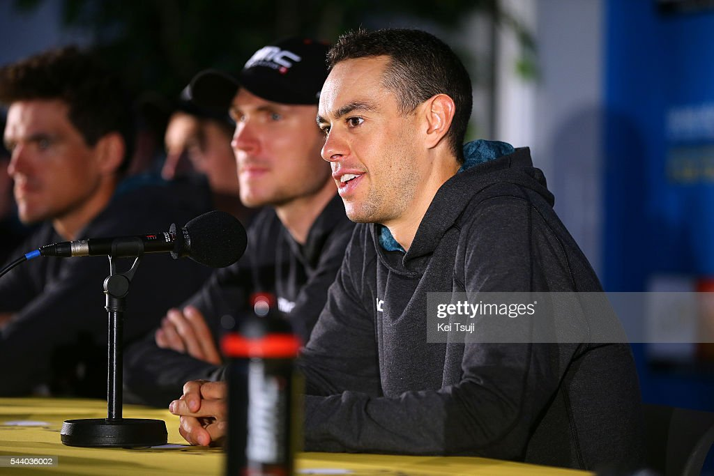 103rd Tour de France 2016 / PC BMC Racing Team Richie PORTE (AUS) / Press Conference BMC Racing Team (USA) / TDF /