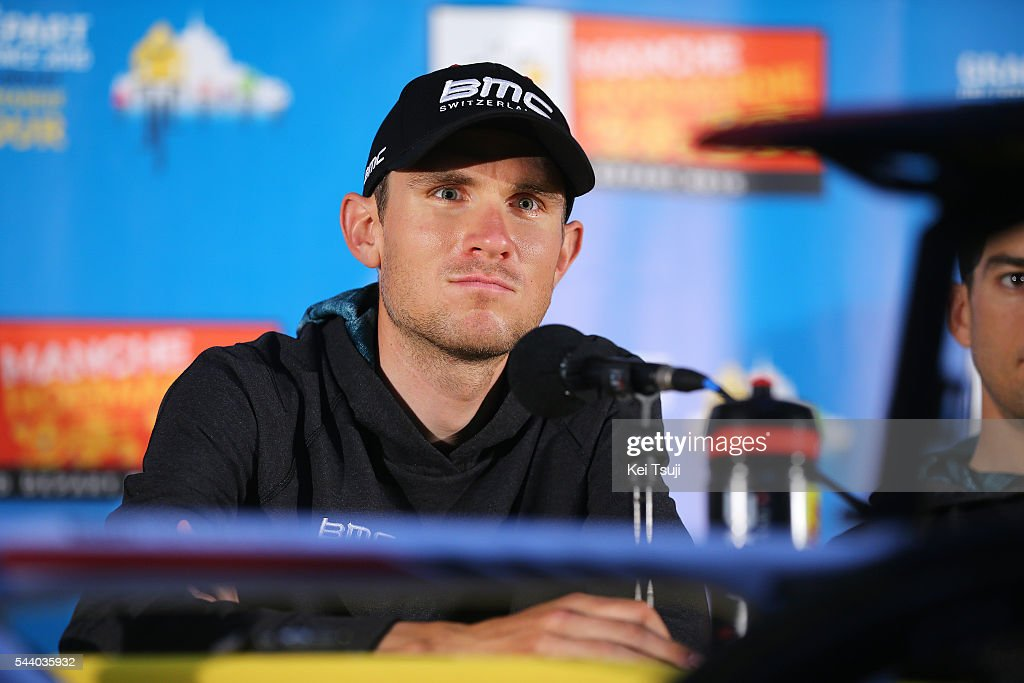 103rd Tour de France 2016 / PC BMC Racing Team Tejay VAN GARDEREN (USA) / Press Conference BMC Racing Team (USA) / TDF /