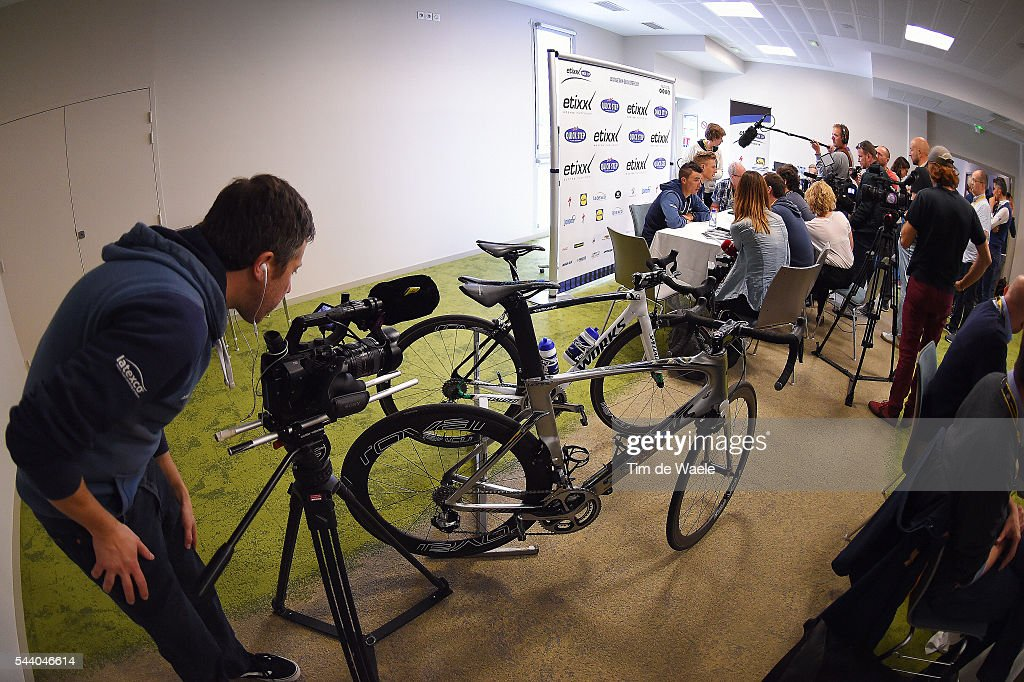 103rd Tour de France 2016 / PC Team Etixx QS Illustration / S-Works Bike / Press / Press Conference Team Etixx QS (BEL) / TDF /