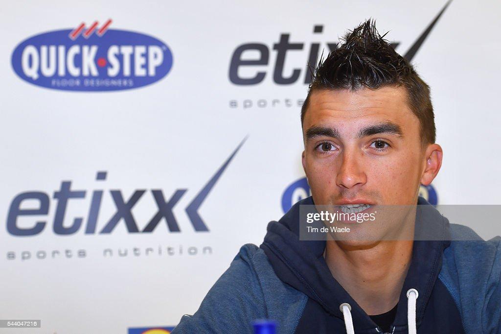 103rd Tour de France 2016 / PC Team Etixx QS Julian ALAPHILIPPE (FRA)/ Press Conference Team Etixx QS (BEL) / TDF /