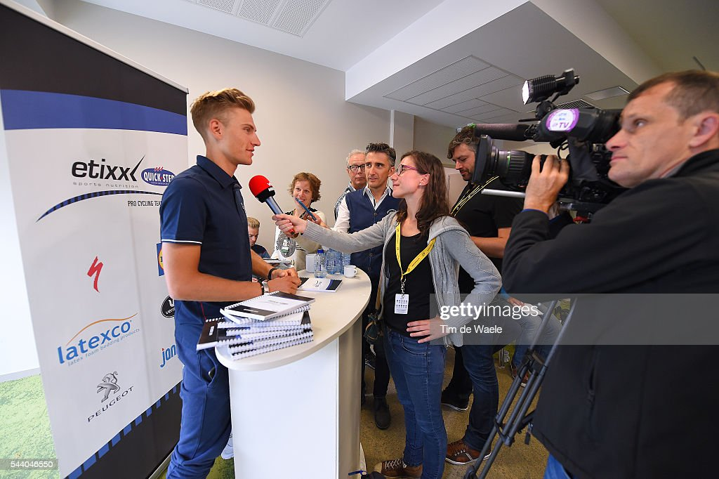 103rd Tour de France 2016 / PC Team Etixx QS Marcel KITTEL (GER)/ Press Conference Team Etixx QS (BEL) / TDF /