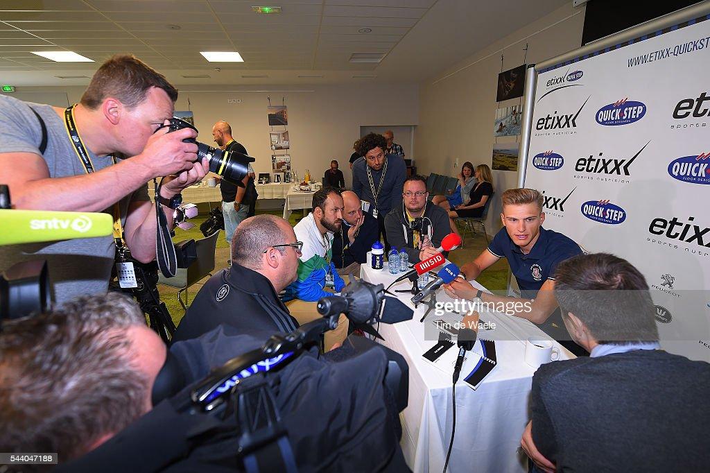 103rd Tour de France 2016 / PC Team Etixx QS Marcel KITTEL (GER)/ Press Conference Team Etixx QS (BEL) / TDF /