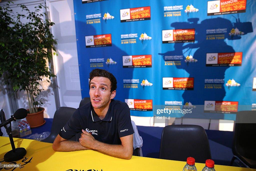 103rd Tour de France 2016 / PC Team Orica GreenEdge Adam YATES (GBR) / Press Conference Team ORICA GREENEDGE (AUS) / TDF /