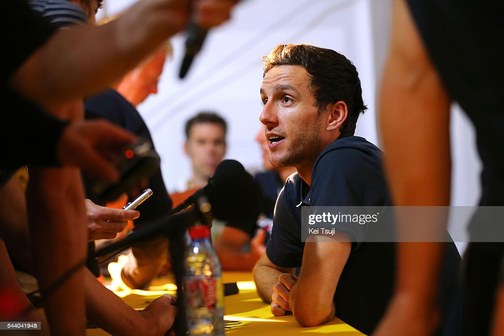 103rd Tour de France 2016 / PC Team Orica GreenEdge Adam YATES (GBR) / Press Conference Team ORICA GREENEDGE (AUS) / TDF /