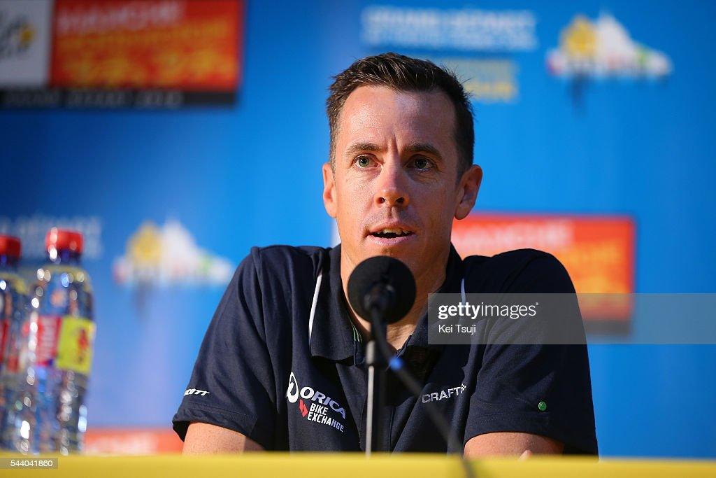 103rd Tour de France 2016 / PC Team Orica GreenEdge Mathew HAYMAN (AUS) / Press Conference Team ORICA GREENEDGE (AUS) / TDF /