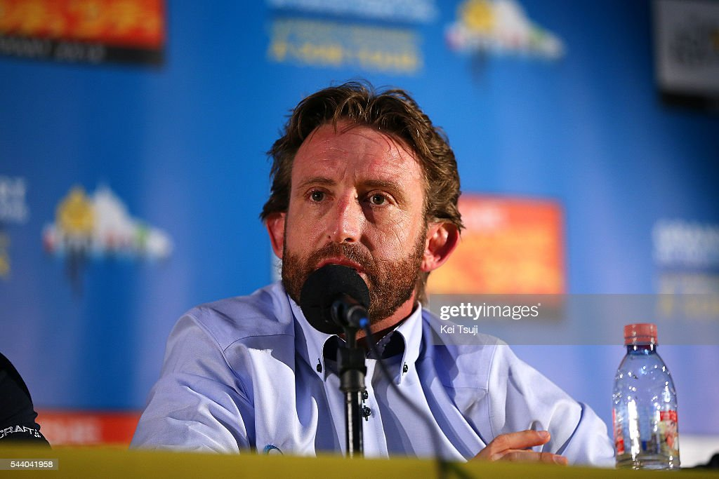 103rd Tour de France 2016 / PC Team Orica GreenEdge Matthew WHITE (AUS) Team Manager / Press Conference Team ORICA GREENEDGE (AUS) / TDF /