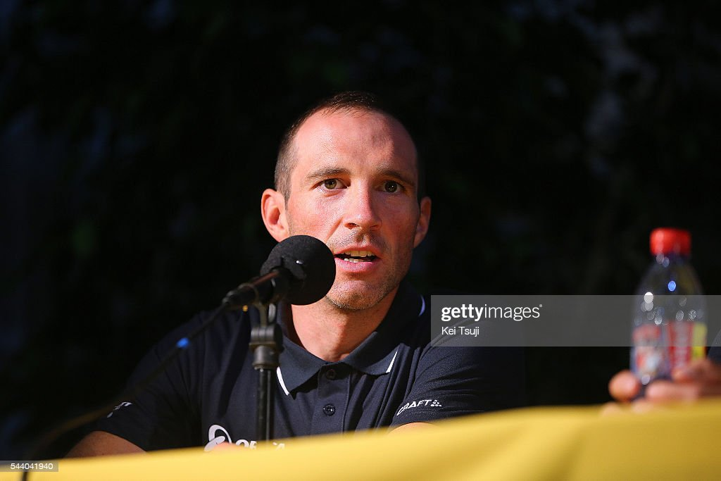 103rd Tour de France 2016 / PC Team Orica GreenEdge Michael ALBASINI (SUI) / Press Conference Team ORICA GREENEDGE (AUS) / TDF /