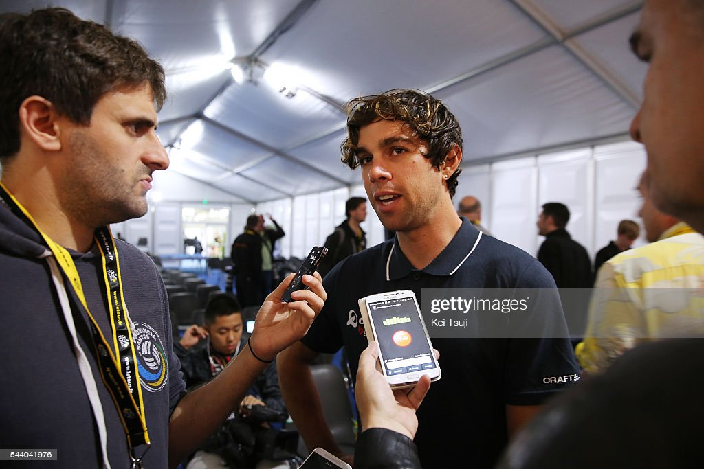 103rd Tour de France 2016 / PC Team Orica GreenEdge Michael MATTHEWS (AUS) / Press Conference Team ORICA GREENEDGE (AUS) / TDF /