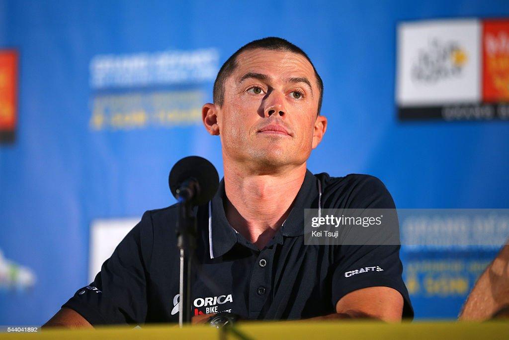 103rd Tour de France 2016 / PC Team Orica GreenEdge Simon GERRANS (AUS) / Press Conference Team ORICA GREENEDGE (AUS) / TDF /
