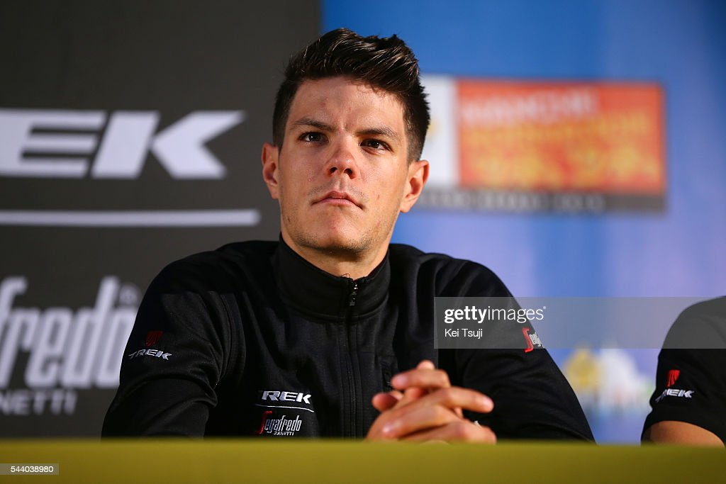 103rd Tour de France 2016 / PC Team Trek - Segafredo Jasper STUYVEN (BEL) / Press Conference Team Trek - Segafredo (USA) / TDF /