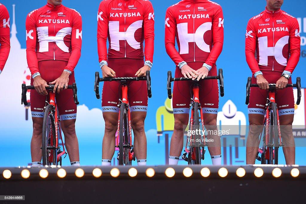 103rd Tour de France 2016 / Team Presentation Illustration / Team KATUSHA (RUS)/ TDF /