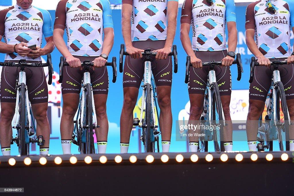103rd Tour de France 2016 / Team Presentation Illustration / Team AG2R LA MONDIALE (FRA)/ TDF /