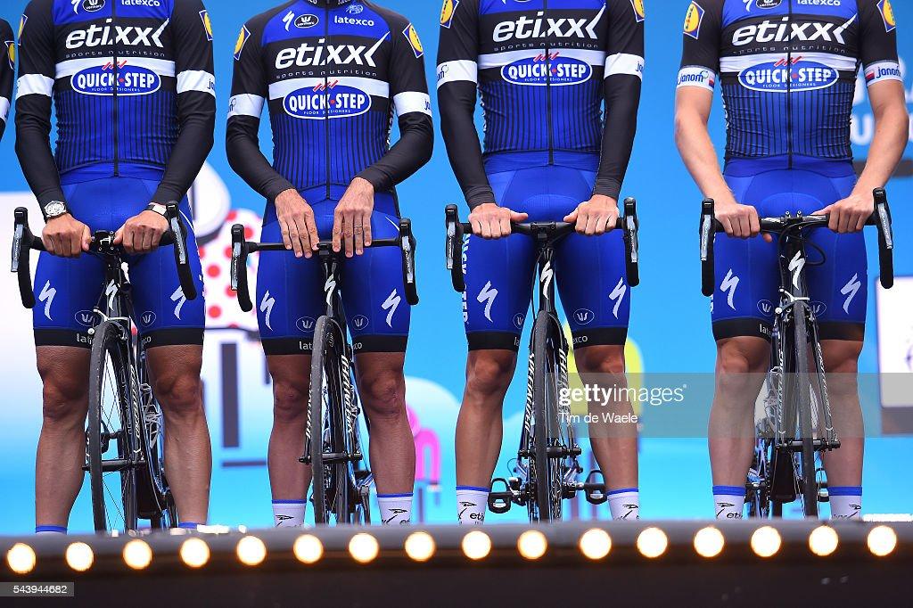 103rd Tour de France 2016 / Team Presentation Illustration / Team ETIXX - QUICK-STEP (BEL)/ TDF /