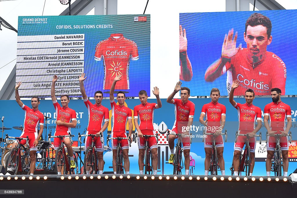 http://media.gettyimages.com/photos/cycling-103rd-tour-de-france-2016-team-presentation-team-cofidis-picture-id543934786