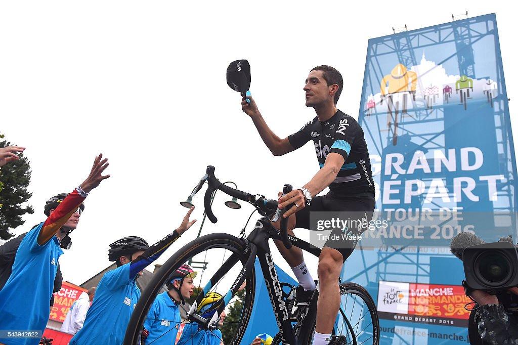 103rd Tour de France 2016 / Team Presentation Team SKY (GBR)/ Mikel NIEVE ITURRALDE (ESP)/ TDF /