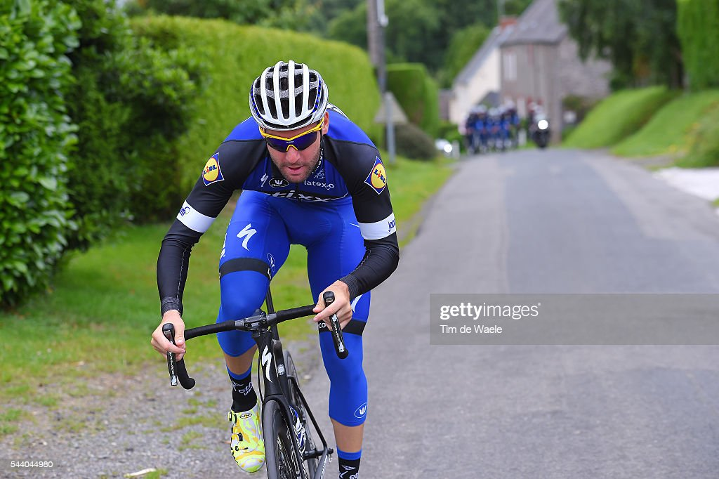 103rd Tour de France 2016 / Training Team Etixx QS Fabio Sabatini (ITA)/ Training Team Etixx QS (BEL) / TDF /
