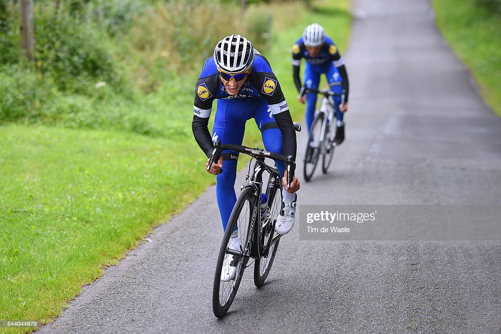 103rd Tour de France 2016 / Training Team Etixx QS Julian ALAPHILIPPE (FRA)/ Training Team Etixx QS (BEL) / TDF /