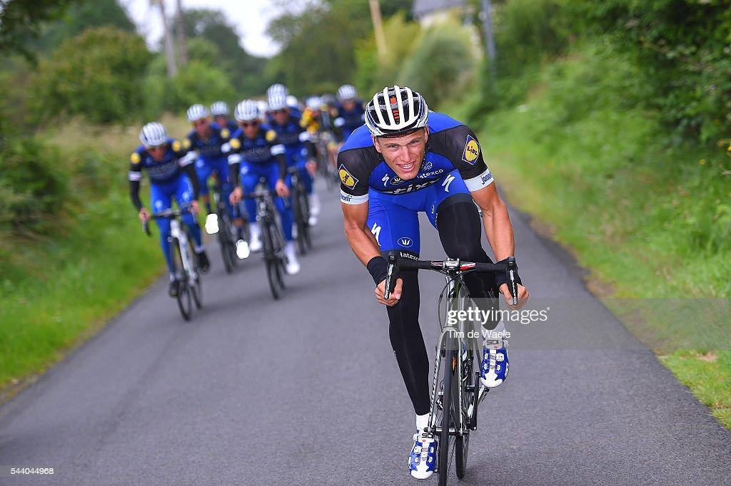 103rd Tour de France 2016 / Training Team Etixx QS Marcel KITTEL (GER)/ Training Team Etixx QS (BEL) / TDF /