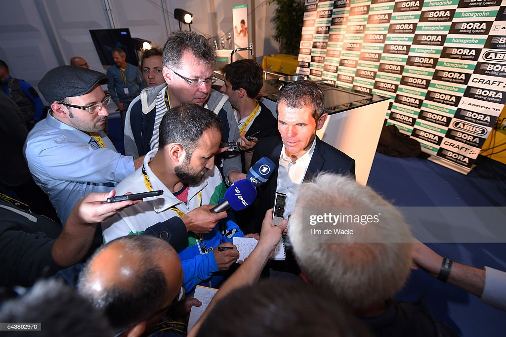 103th Tour de France 2016 / PC Team Bora Argon 18 Ralph DENK (GER) Team Manager / Press Conferance Team Bora Argon 18 (GER)/ TDF /