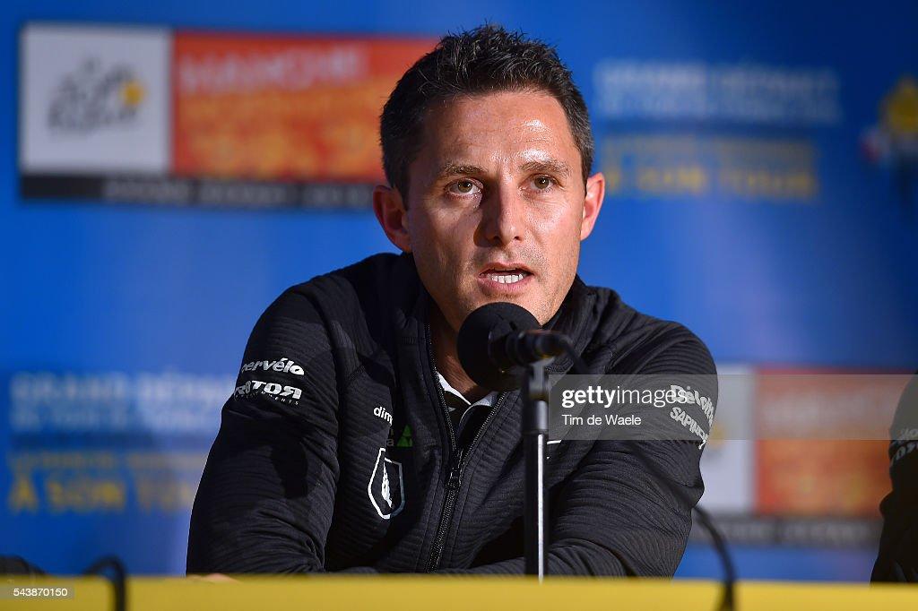 103th Tour de France 2016 / PC Team Dimension Data Douglas RYDER (RSA) Team Manager / Press Conference Team Dimension Data (RSA)/ TDF /